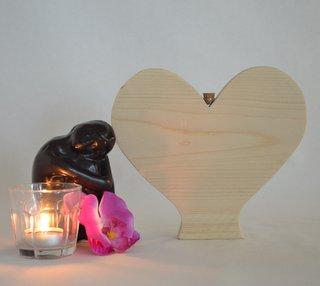 asbewaarder hart staand nieuw steigerhout